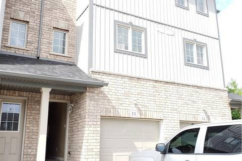 Townhouse for sale at 285 Old Huron Rd Unit 11 Kitchener Ontario - MLS: 30743292