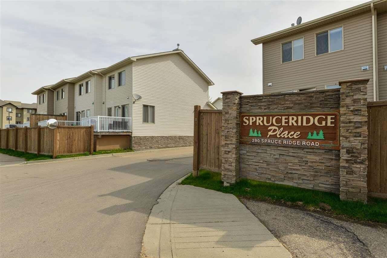 Townhouse for sale at 290 Spruce Ridge Rd Unit 11 Spruce Grove Alberta - MLS: E4195762