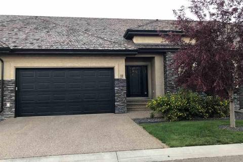 Townhouse for sale at 4058 Mactaggart Dr Nw Unit 11 Edmonton Alberta - MLS: E4123160