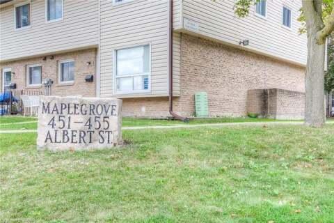 Townhouse for sale at 451 Albert St Unit 11 Waterloo Ontario - MLS: 40014301
