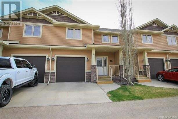 Townhouse for sale at 4603 Ryders Ridge Blvd Unit 11 Sylvan Lake Alberta - MLS: ca0193912