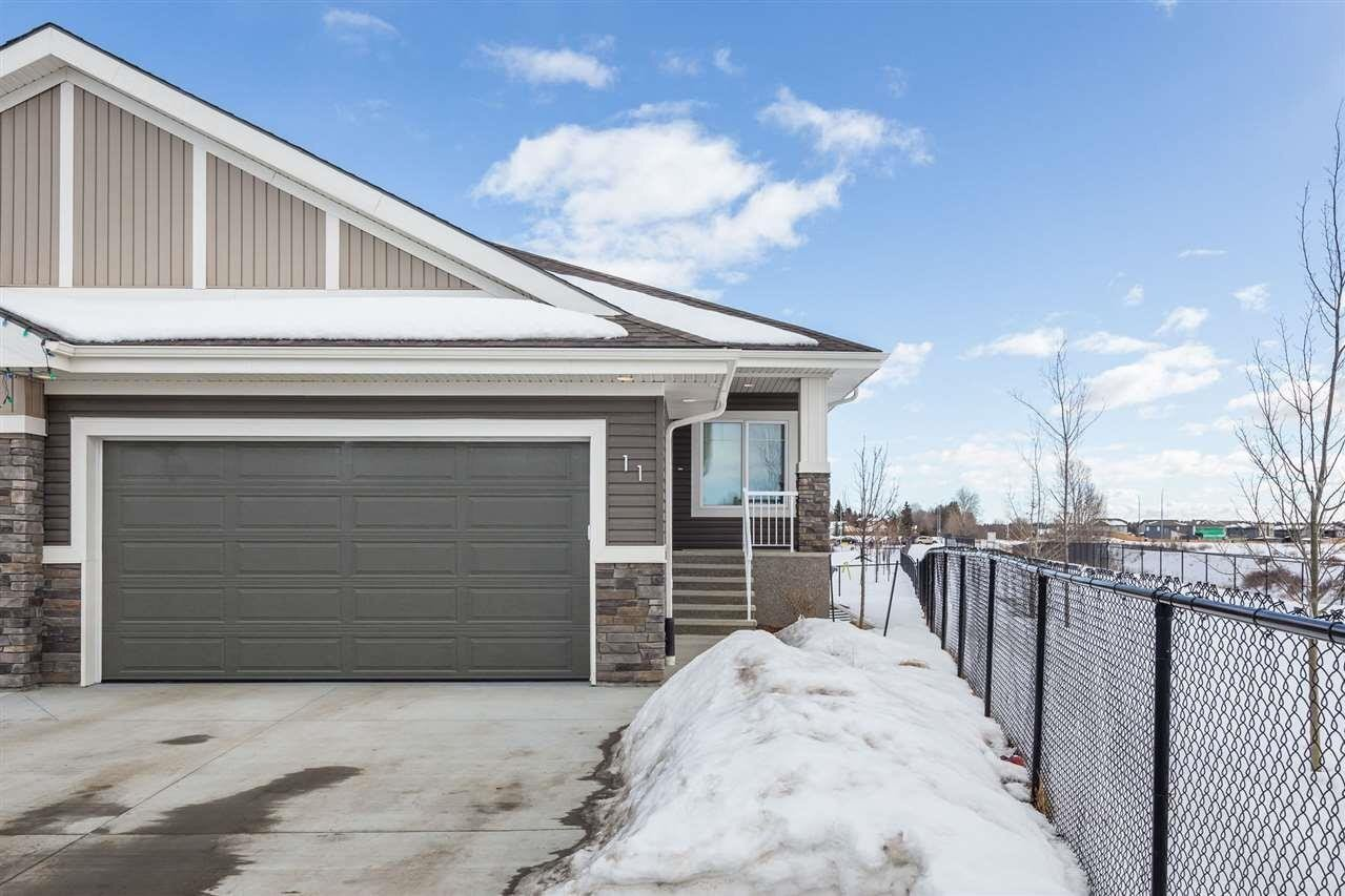 Townhouse for sale at 50 Legacy Tc Unit 11 St. Albert Alberta - MLS: E4218353