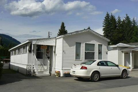Residential property for sale at 501 Kappel St Unit 11 Sicamous British Columbia - MLS: 10185218