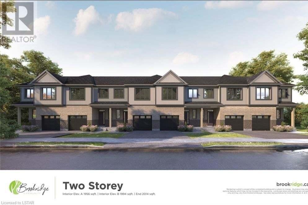 Townhouse for sale at 601 Lions Park Dr Unit 11 Mount Brydges Ontario - MLS: 277304