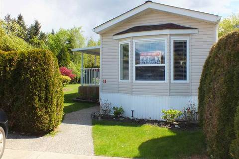Home for sale at 62790 Flood Hope Rd Unit 11 Hope British Columbia - MLS: R2351212
