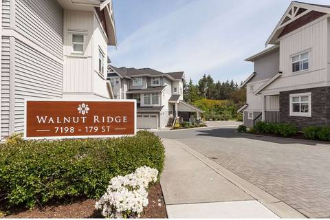 Townhouse for sale at 7198 179 St Unit 11 Surrey British Columbia - MLS: R2366816