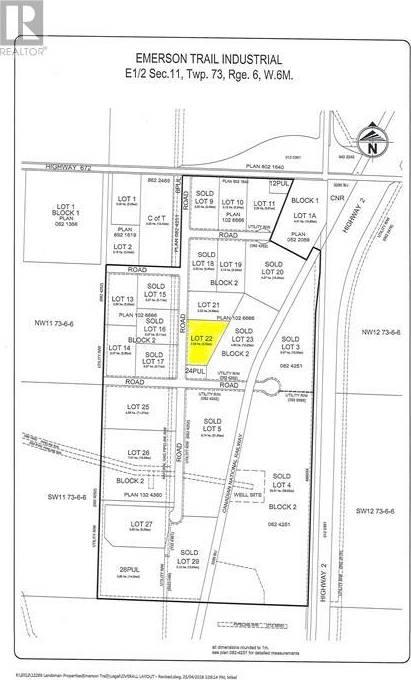 Home for sale at 0 Ne 11-73-6-w6  Ne Unit 11-73-6-W6 Grande Prairie, County Of Alberta - MLS: GP081986