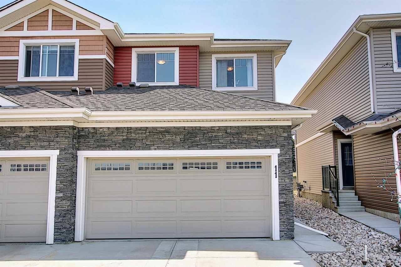 Townhouse for sale at 94 Longview Dr Unit 11 Spruce Grove Alberta - MLS: E4195103