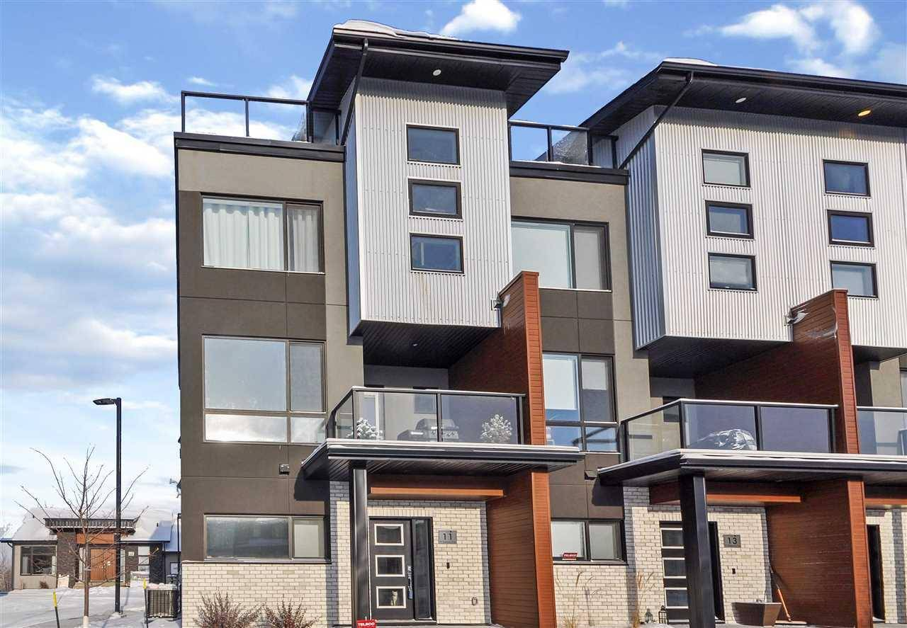 Townhouse for sale at 95 Salisbury Wy Unit 11 Sherwood Park Alberta - MLS: E4184281