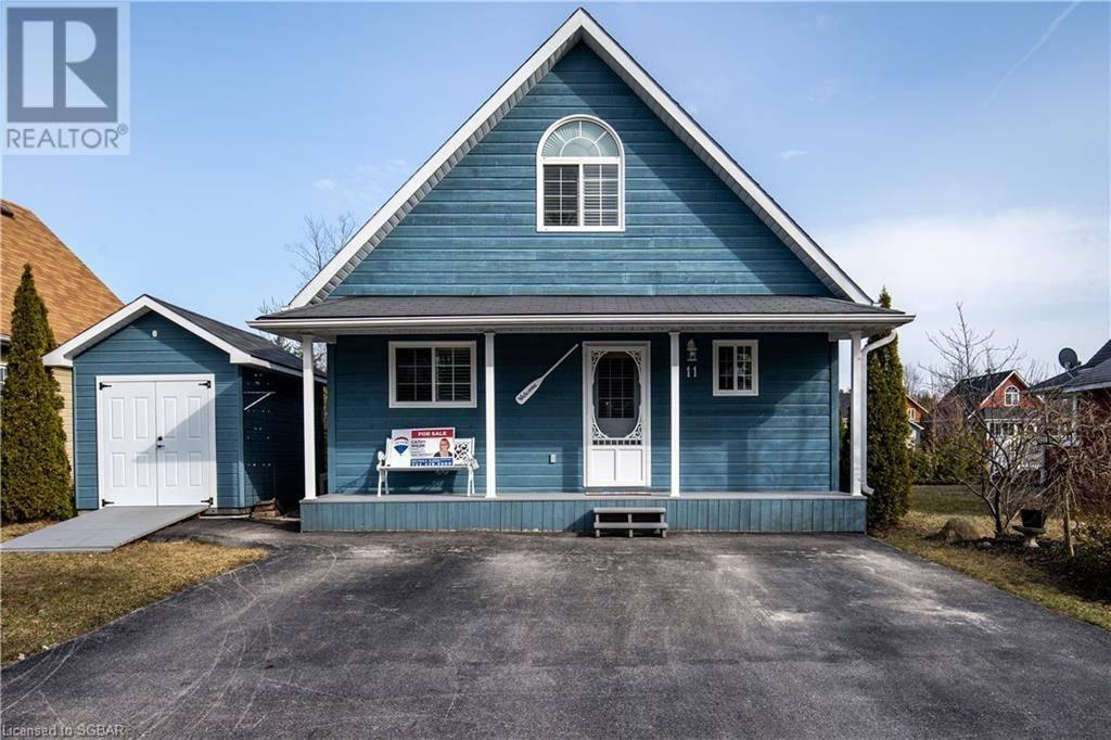 House for sale at 11 Awenda Ave Wasaga Beach Ontario - MLS: 248647