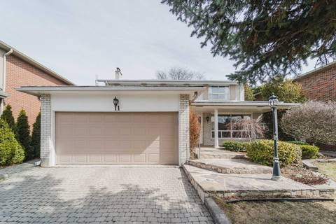House for sale at 11 Butterfield Dr Toronto Ontario - MLS: C4723250