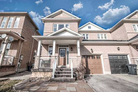 Townhouse for sale at 11 Charcoal Wy Brampton Ontario - MLS: W4412037