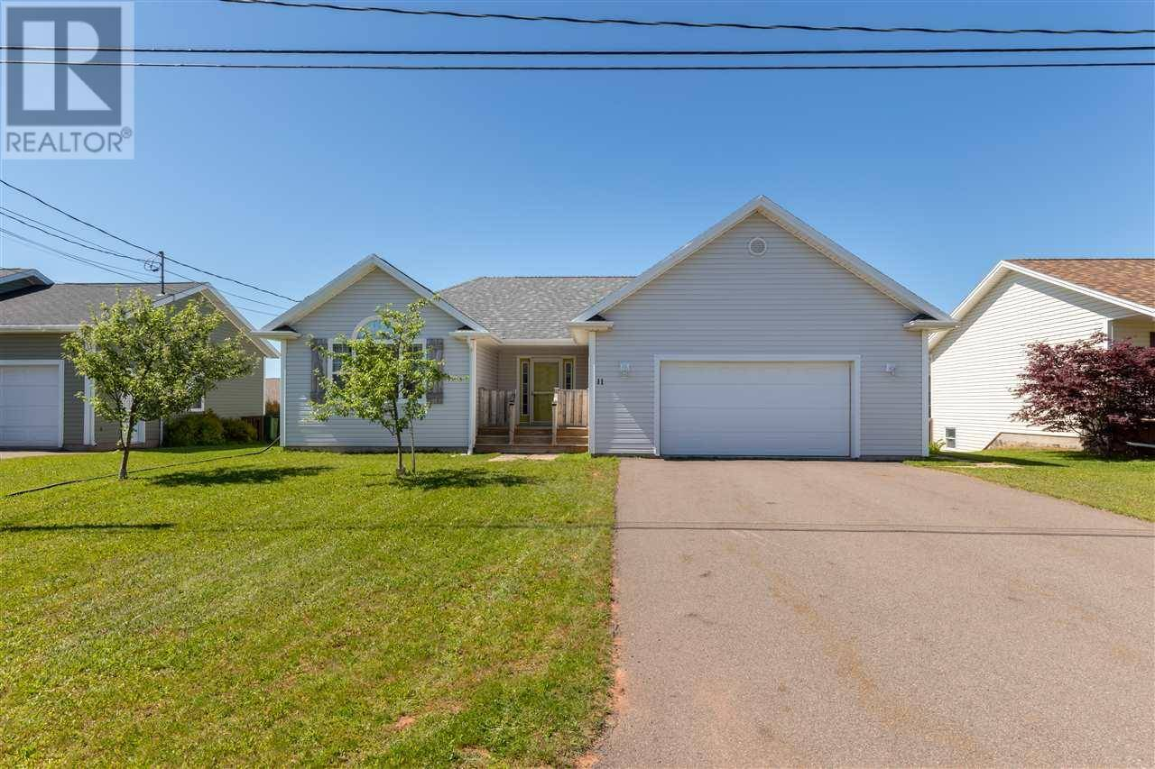 House for sale at 11 Doiron Dr West Royalty Prince Edward Island - MLS: 202000535