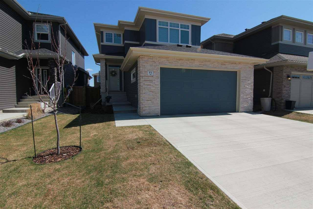 House for sale at 11 Elise Pl St. Albert Alberta - MLS: E4194360