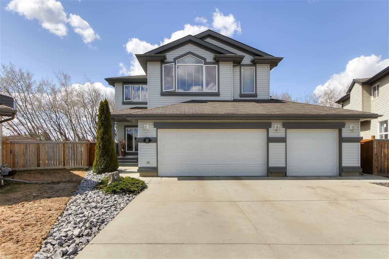 House for sale at 11 Ellesboro Cs St. Albert Alberta - MLS: E4195069