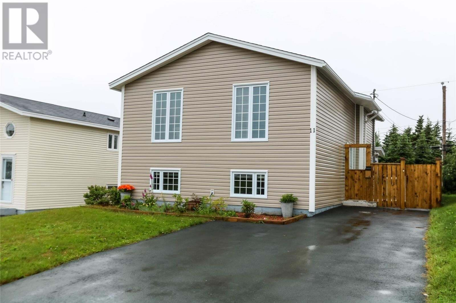 House for sale at 11 Elmcliffe St Mount Pearl Newfoundland - MLS: 1218410
