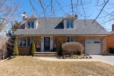 House for sale at 11 Glenn Murray Dr Toronto Ontario - MLS: W4393505