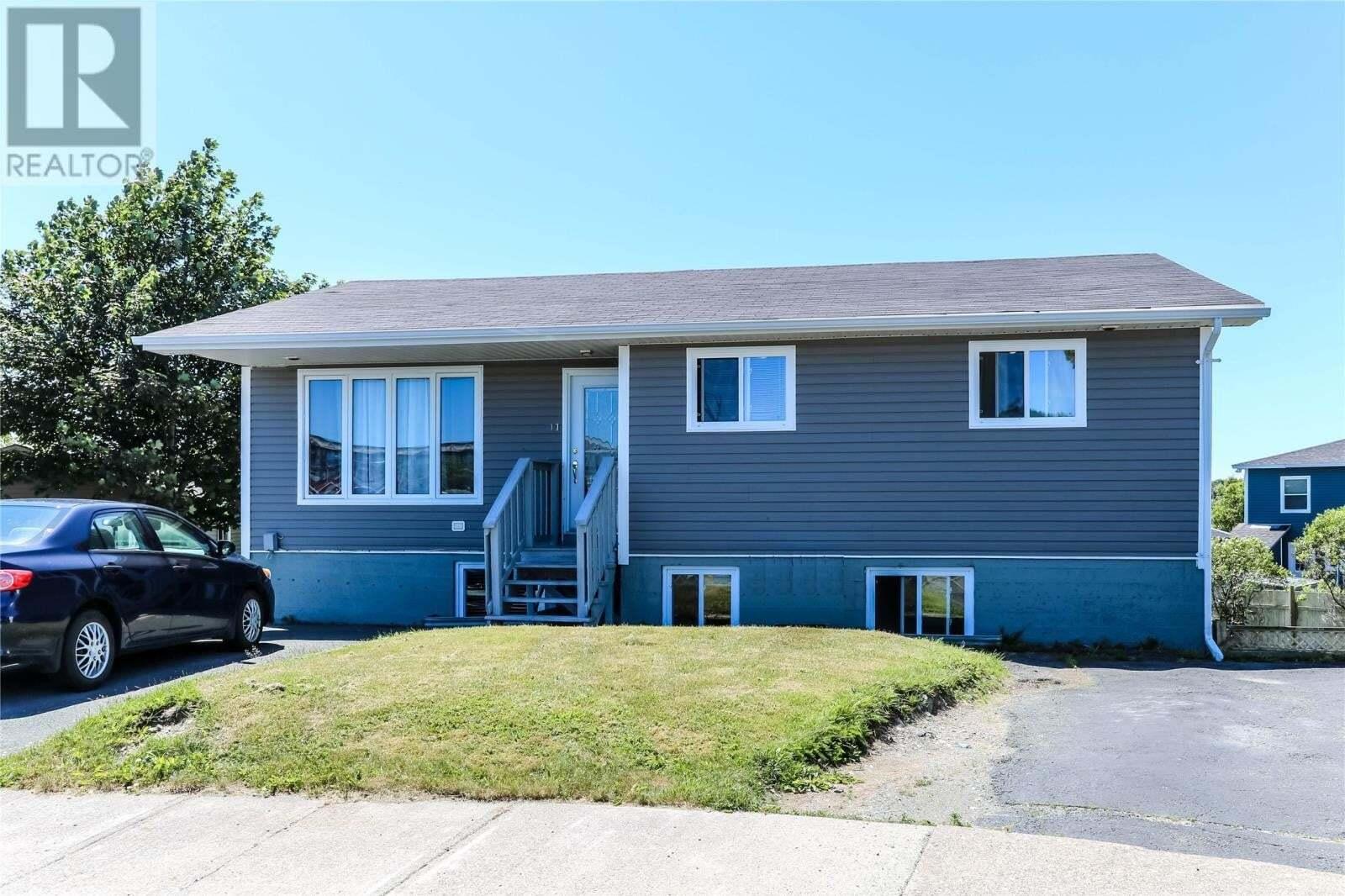 House for sale at 11 Glover Pl St. John's Newfoundland - MLS: 1217161