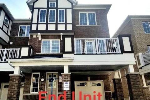 Townhouse for rent at 11 Goldeye St Whitby Ontario - MLS: E4733360