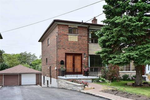 Townhouse for sale at 11 Gotham Ct Toronto Ontario - MLS: W4496866