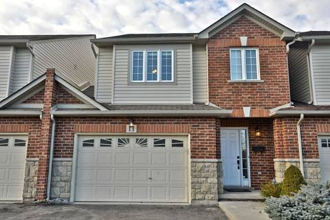Townhouse for sale at 11 Ivy Bridge Dr Hamilton Ontario - MLS: X4392070