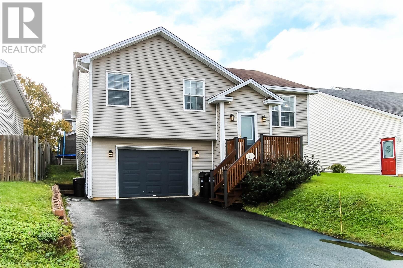House for sale at 11 Lancaster St St. John's Newfoundland - MLS: 1222811
