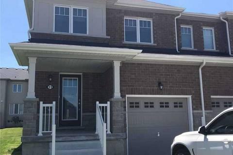 Townhouse for sale at 11 Longboat Run  Brantford Ontario - MLS: X4497109
