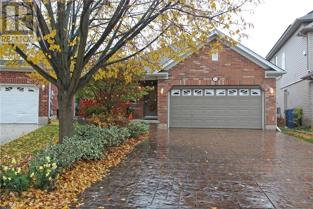 House for sale at 11 Mcgarr Dr Guelph Ontario - MLS: 30775444