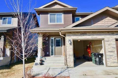 Townhouse for sale at 11 Peter St Spruce Grove Alberta - MLS: E4151700