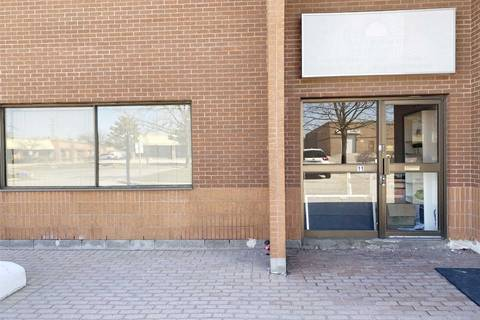 Commercial property for sale at Road 5757 Kennedy Rd Unit 11 Mississauga Ontario - MLS: W4734869