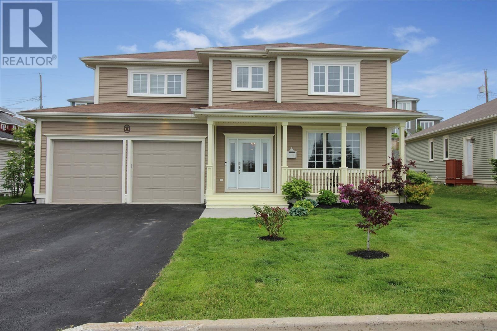 House for sale at 11 Stonebridge Pl St. John's Newfoundland - MLS: 1204551
