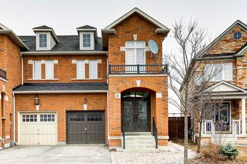 Townhouse for sale at 11 Summit Dr Vaughan Ontario - MLS: N4415060