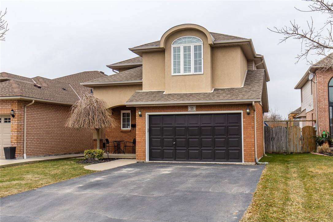 House for sale at 11 Treeview Ct Stoney Creek Ontario - MLS: H4075235
