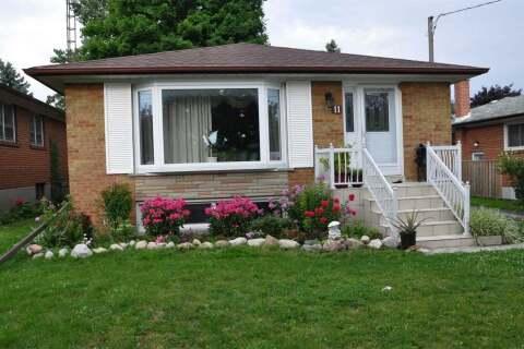 House for rent at 11 Vanwart Dr Toronto Ontario - MLS: E4952129