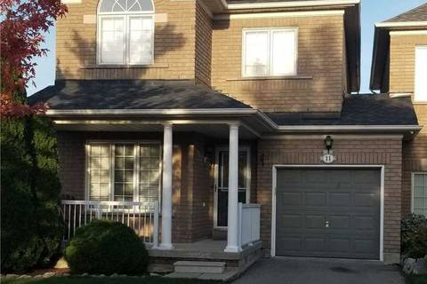 Townhouse for rent at 11 Walkview Cres Richmond Hill Ontario - MLS: N4601059