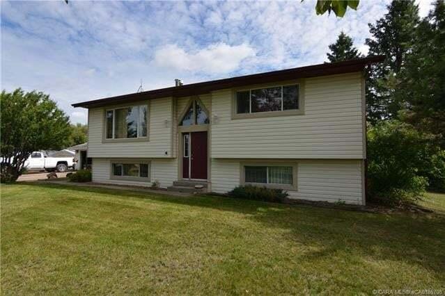 House for sale at 11 Woodland Dr Rural Ponoka County Alberta - MLS: CA0186708
