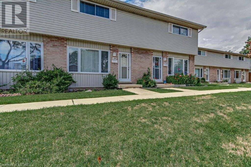 Townhouse for sale at 1095 Jalna Blvd Unit 110 London Ontario - MLS: 278095