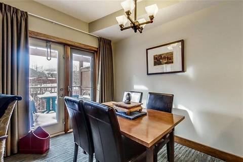 Condo for sale at 121 Kananaskis Wy Unit 110 Canmore Alberta - MLS: C4286257