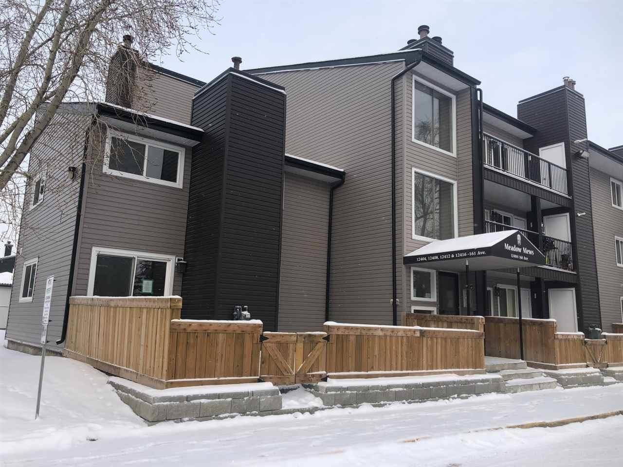 Townhouse for sale at 12404 161 Ave Nw Unit 110 Edmonton Alberta - MLS: E4182470