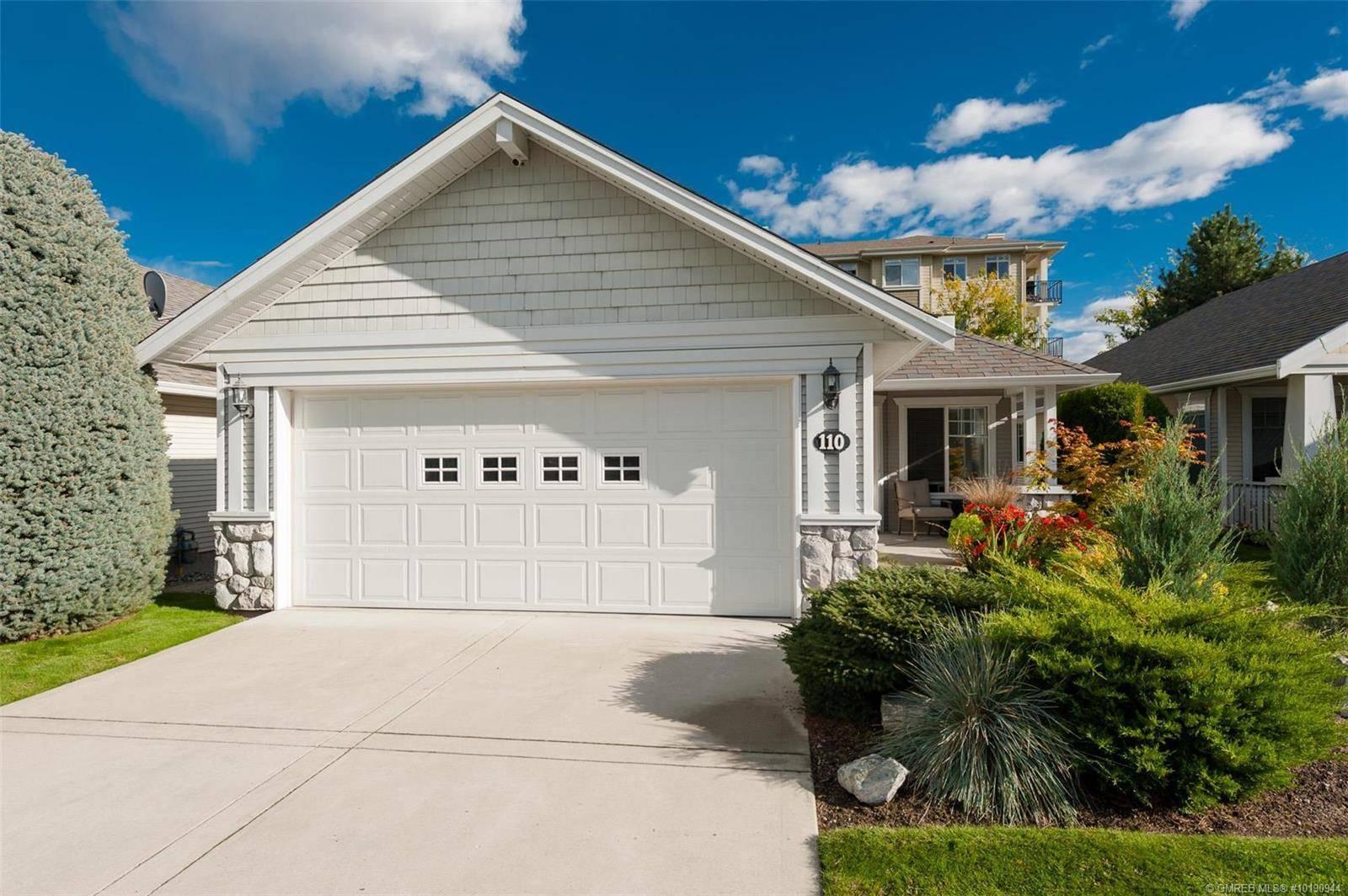 Townhouse for sale at 1330 Ridgeway Dr Unit 110 Kelowna British Columbia - MLS: 10190944