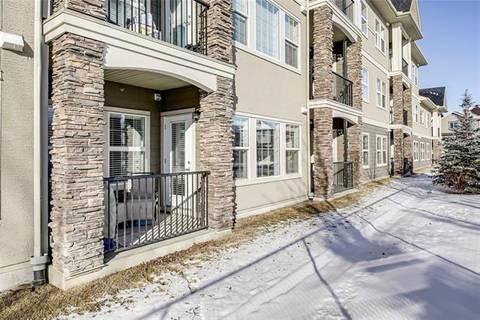 Condo for sale at 200 Cranfield Common Southeast Unit 110 Calgary Alberta - MLS: C4286723