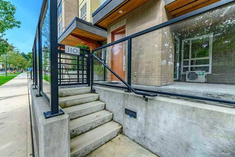 Condo for sale at 3462 Ross Dr Unit 110 Vancouver British Columbia - MLS: R2397262