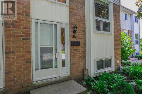 Townhouse for sale at 36 Deveron Cres Unit 110 London Ontario - MLS: 202626