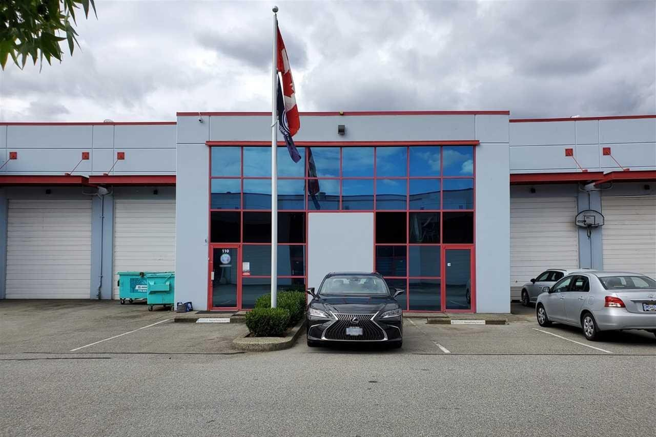 Commercial property for sale at 42 Fawcett Rd Unit 110 Coquitlam British Columbia - MLS: C8033262