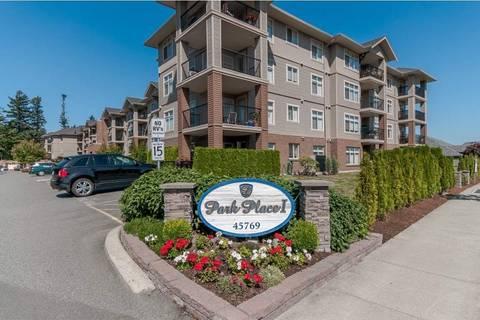 Condo for sale at 45769 Stevenson Rd Unit 110 Sardis British Columbia - MLS: R2388482