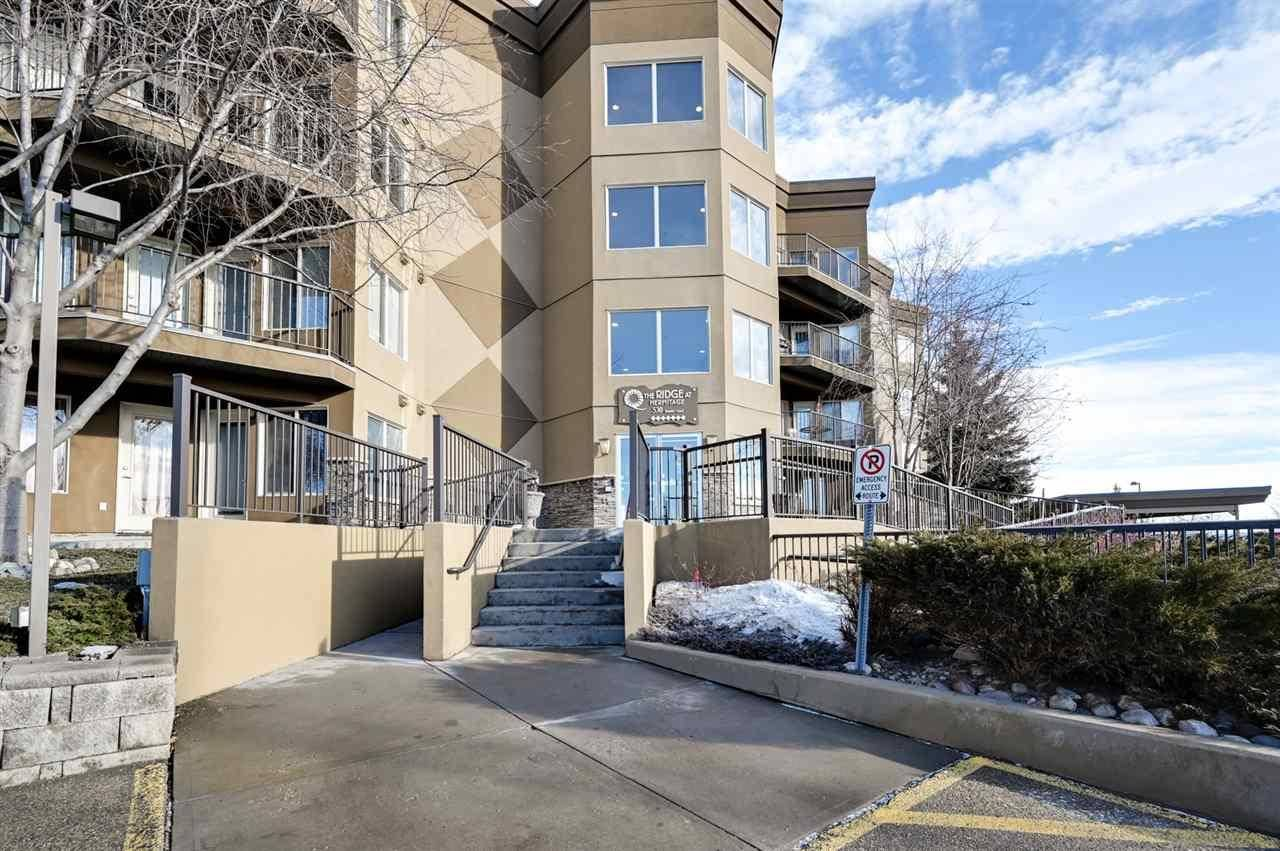 Condo for sale at 530 Hooke Rd Nw Unit 110 Edmonton Alberta - MLS: E4189736