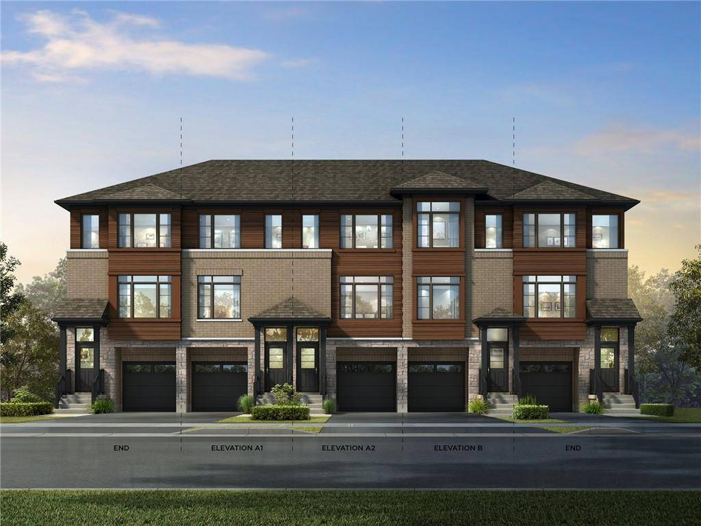 Townhouse for sale at 575 Woodward Ave Unit 110 Hamilton Ontario - MLS: H4076896