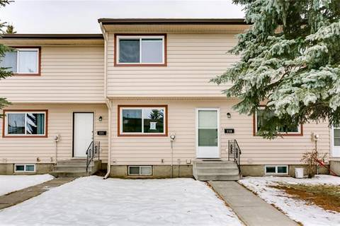 Townhouse for sale at 6100 4 Ave Northeast Unit 110 Calgary Alberta - MLS: C4281679