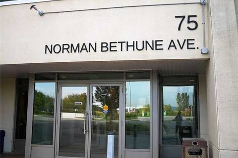 Condo for sale at 75 Norman Bethune Ave Unit 110 Richmond Hill Ontario - MLS: N4602679