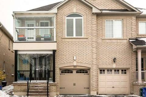 Townhouse for rent at 110 Andes Cres Vaughan Ontario - MLS: N4534846